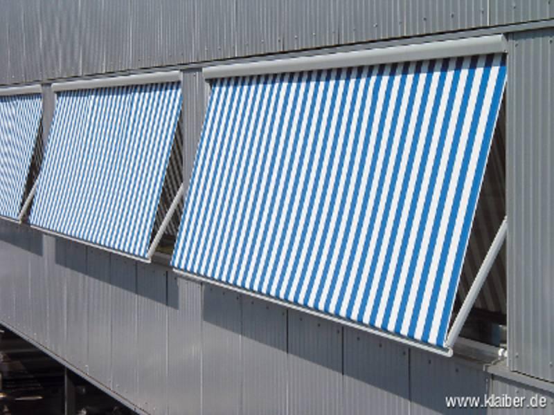 Fallarm Markise Metro Box Der Firma Klaiber