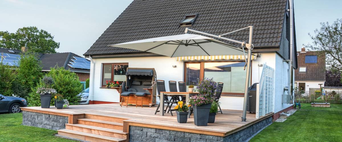 Sonnenschirme für Garten Terrasse Balkon München Olching
